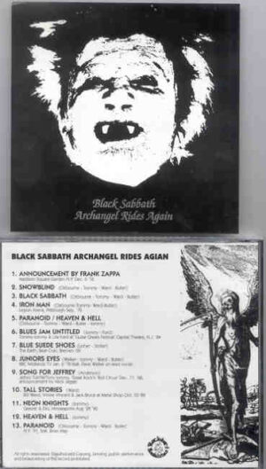 Black Sabbath - Archangel Rides Again ( Madison Square Garden , New York , USA , Dec 6th , 1976 )