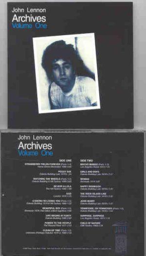 John Lennon - Archives Vol 1