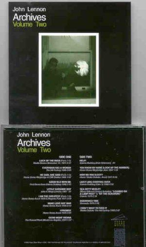 John Lennon - Archives Vol 2