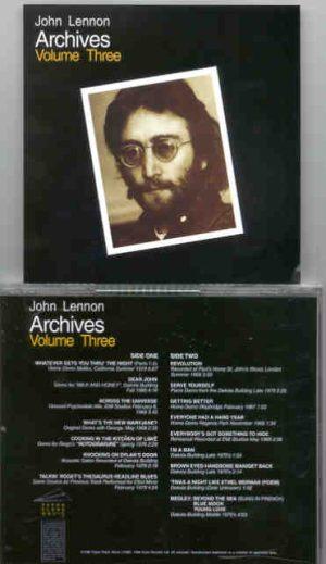 John Lennon - Archives Vol 3