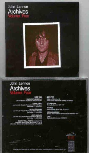 John Lennon - Archives Vol 4