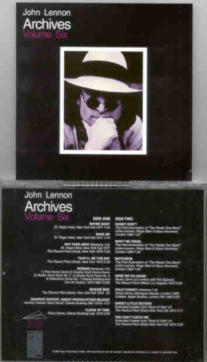 John Lennon - Archives Vol 6