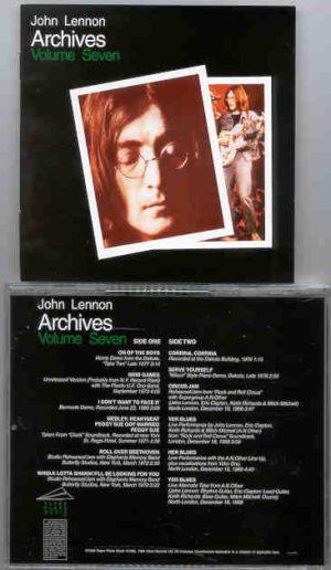 John Lennon - Archives Vol 7