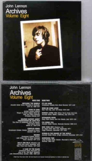 John Lennon - Archives Vol 8