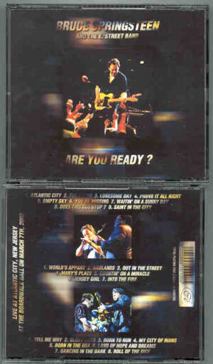 Bruce Springsteen - Are You Ready ? ( 3 cd set ) ( Boardwalk Hall Atlantic City , New Jersey , March 7th , 2003 )
