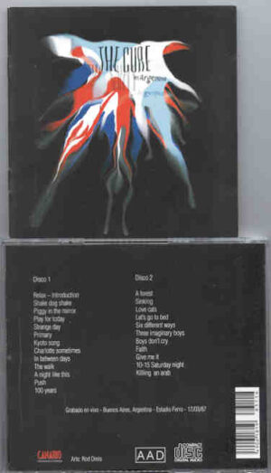 The Cure - Argentina 1987 ( Buenos Aires , Estadio Ferro , March 17th , 1987 ) ( 2 CD!!!!! SET )
