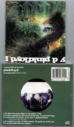 Pink Floyd - A Saucerful Of Secrets ( Mono Edition ) ( Unavailable Mono mix release of the album )