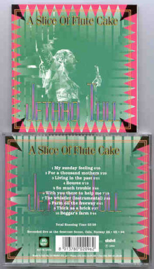 Jethro Tull - A Slice Of Flute Cake ( Big Music )