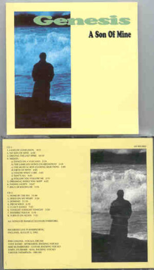P. Gabriel  /  GENESIS  /  P. Collins - A Son Of Mine  ( 2 CD!!!!! SET ) ( Knebworth , England , August 2nd 1992 )