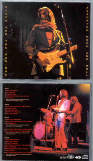 Eric Clapton - Assorted Rock And Roll Music ( 4 CD SET ) ( Derek And The Dominoes ) ( Live 1970 Unreleased )