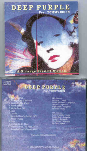 Deep Purple - A Strange Kind Of Woman ( Feat. Tommy Bolin )