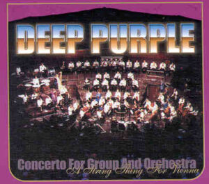 Deep Purple - A String Thing For Vienna ( 2 CD!!!!! set ) ( Live At The Stadthalle , Vienna , Austria , October 27th , 2000 )