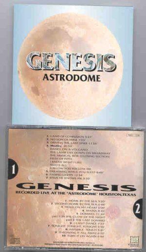 P. Gabriel  /  GENESIS  /  P. Collins - Astrodome  ( Astrodome , Houston , Texas , USA )  ( 2 CD!!!!! SET )