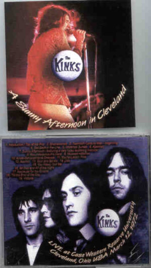 The Kinks - A Sunny Afternoon In Cleveland ( Cleveland , Ohio , March 12th , 1972 )