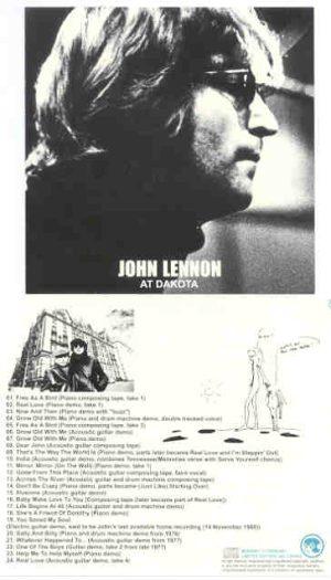 John Lennon - At Dakota ( Monkey Clown )