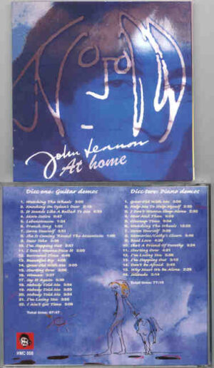 John Lennon - At Home  ( 2 CD!!!!! SET With 20 pages Booklet ) ( His Master's Choice )