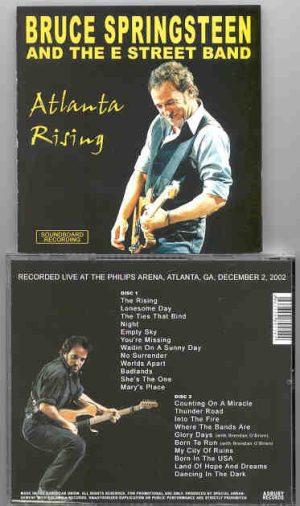 Bruce Springsteen - Atlanta Rising ( 2 CD!!!!! set ) ( Philips Arena , Atlanta , GA , USA , December 2002 )