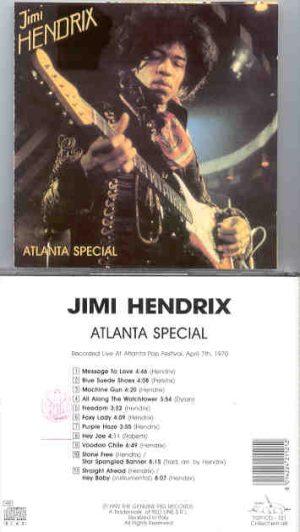 Jimi Hendrix - Atlanta Special  ( Swingin' Pig Recs ) ( Atlanta Pop Fest , April 7th , 1970 )