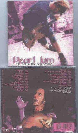 Pearl Jam - Atlanta The Day Before ( KTS ) ( 2 CD!!!!! set )( Atlanta , Georgia , USA , April 2nd , 1994 )