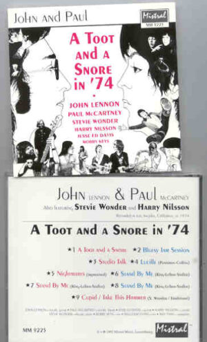 John Lennon - A Toot And A Snore 74