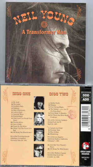 Neil Young / CSNY - A Transformer Man ( Great Dane ) ( 2 CD!!!!! set ) ( Madison Square Garden , New York , October 16th , 1992 )