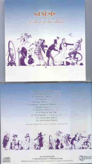 P. Gabriel  /  GENESIS  /  P. Collins - A Trick Of The Takes ( Highland )( Trident Studios , London , UK , October - November 1975 )