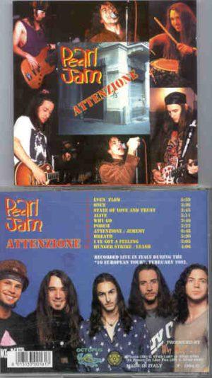 Pearl Jam - Attenzione ( Live in Europe , February 1992 )