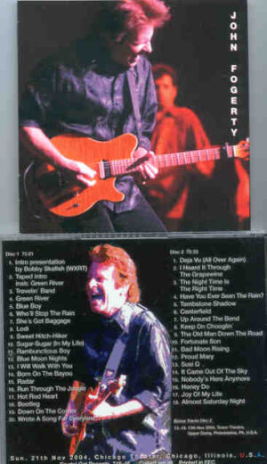 Creedence Clearwater Revival / John Fogerty - At The Chicago Theater ( 2 CD!!!!! set ) ( John Fogerty in Chicago on Sunday , Nov 21st , 2004 )