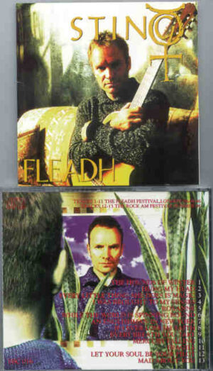 Sting / The Police - At The Fleadh ( London , UK , August 8th , 1996 )