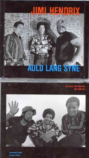 Jimi Hendrix - Auld Lang Syne ( 2 CD!!!!! SET ) ( Live at Fillmore East , New Years Eve 12/31/69 , 2nd Show )