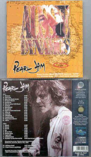 Pearl Jam - Aussie Dynamos ( 2 CD!!!!! set ) ( Octopus ) ( Melbourne , Australia , March 17th , 1995 )