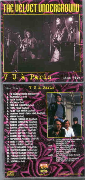 Lou Reed / Velvet Underground - A Walk With The V.U. Part 5 A Paris ( Midnight Beat )