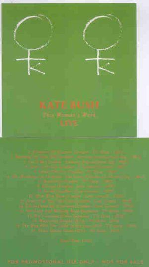Kate Bush - This Woman's Work Live
