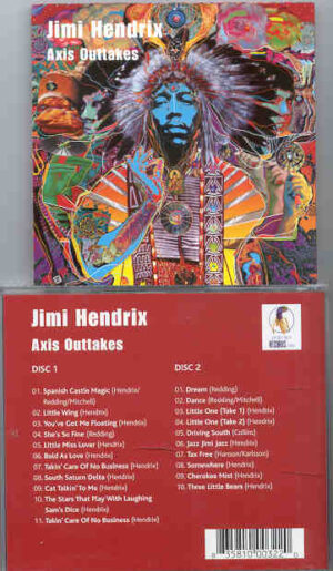 Jimi Hendrix - Axis Outtakes ( 2 CD!!!!! set ) ( Excellent Outtakes from the album )