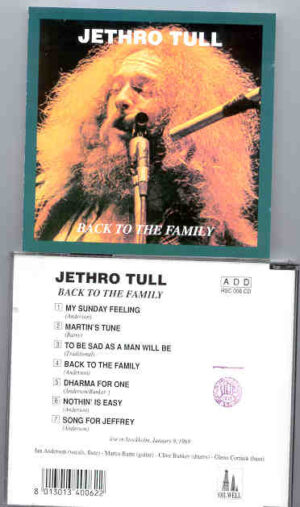 Jethro Tull - Back To The Family ( Oil Well )