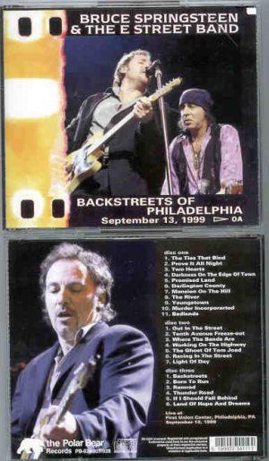 Bruce Springsteen - Backstreets Of Philadelphia ( 3 cd set ) September 13th , 1999 )