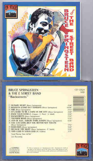 Bruce Springsteen - Backstreets ( On Stage ) ( LIVE USA not LA )
