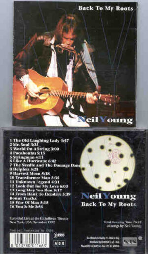 Neil Young / CSNY - Back To My Roots ( KTS ) ( Ed Sullivan Theatre , New York , USA , December , 1992 )
