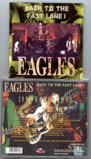 The Eagles - Back To The Fast Lane ( Red Phantom ) ( 2 CD!!!!! set )