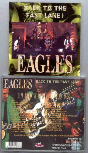 The Eagles - Back To The Fast Lane  ( Red Phantom ) ( 2 CD!!!!! set )