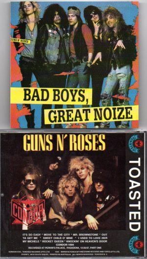 Guns N' Roses - Bad Boys , Great Noize ( Condor Toasted ) (Perkins Palace , Pasadena , CA , December 26th , 1987 )