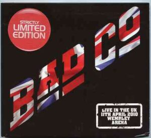 Bad Company - Live In The UK April 11th , 2010  ( 2 CD!!!!! SET ) ( Wembley Arena )