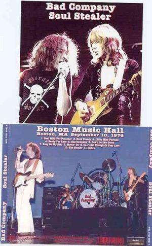 Bad Company - Soul Stealer ( Live in Boston , NA , USA , September 10th , 1974 )