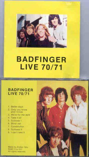 Badfinger - Live 70 / 71