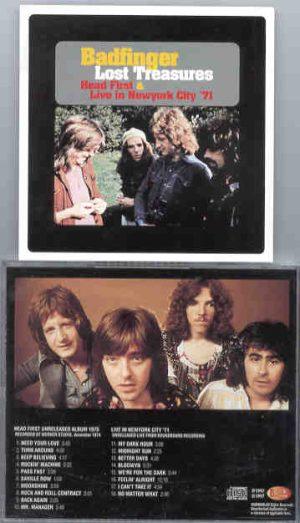 Badfinger - Lost Treasures ( Unreleased Album & Live in New York City 1971 )