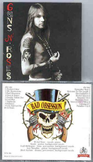 Guns N' Roses - Bad Obsession ( Templar ) ( 2 CD!!!!! SET )