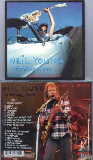 Pearl Jam - Ballin' To Berlin ( 2 CD!!!!! set ) ( Live with Neil Young )