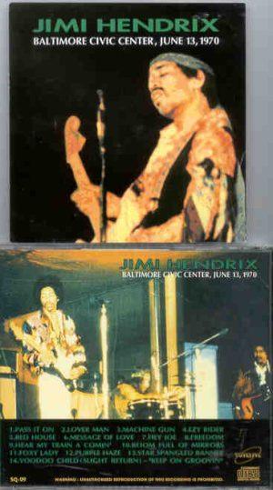 Jimi Hendrix - Baltimore Civic Center , June 13th , 1970