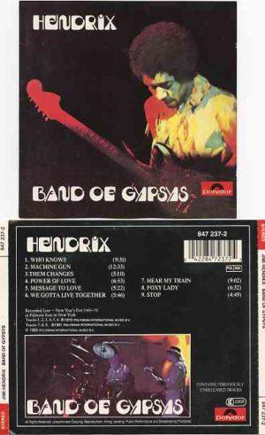 Jimi Hendrix - Band Of Gypsies ( Polydor OOP Album )