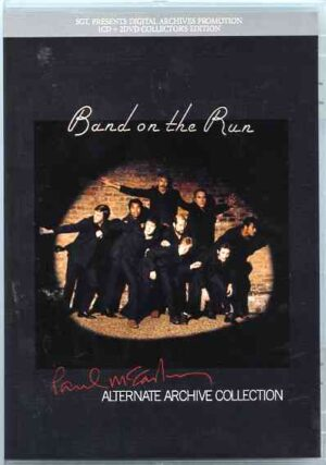 DVD Paul McCartney - Band On The Run Alternate Archive Collection ( 1 CD - 2 DVD SET ) ( 2011 DAP Records )